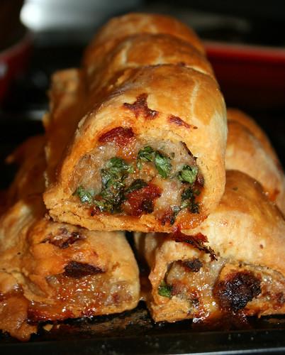 Chorizo & Pork Rolls