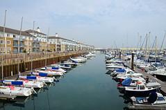 Brighton Marina, UK 009 (Kerrie A. Brown) Tags: sea marina boats brighton unitedkingdom newgoldenseal