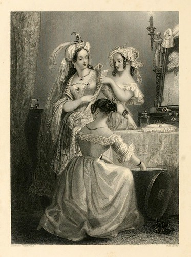 003-La belleza y el vestir-The gallery of engravings (Volume 1) 1848