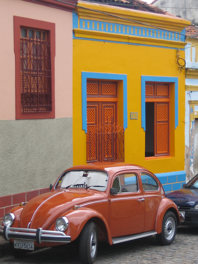 Colourful Olinda Architecture