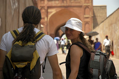 Agra (Luciana Oliveira) Tags: india asia agra redfort