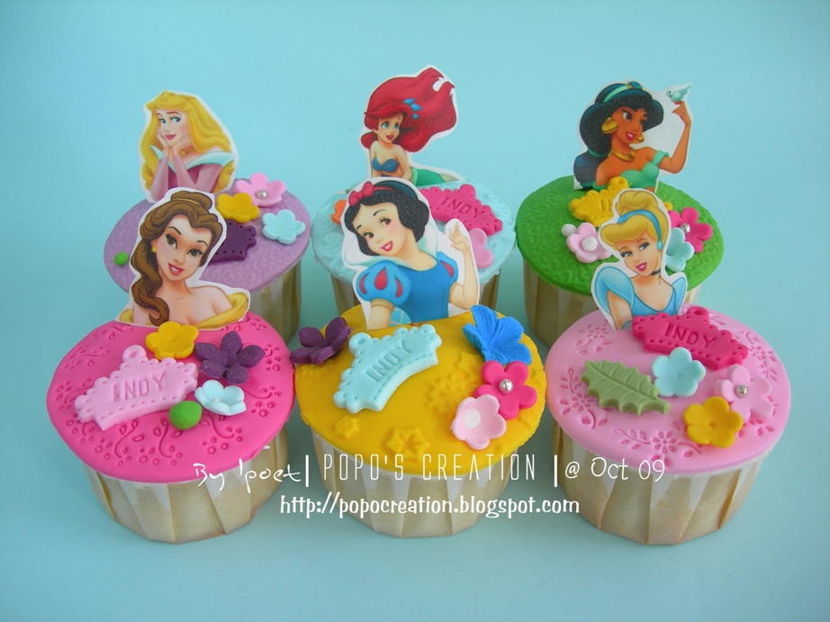 princess cupcake for INDY