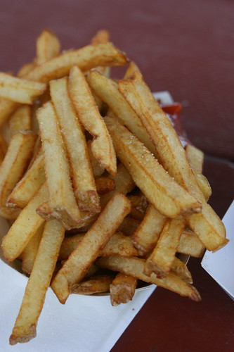 What I ate at Rhinebeck: more fries