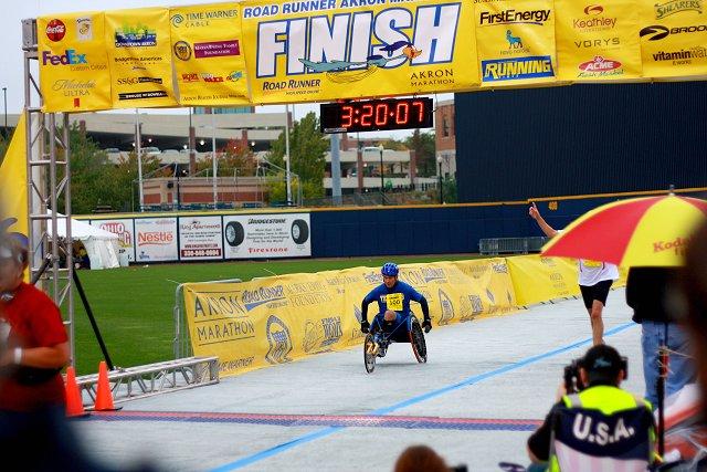 wheelchair finish