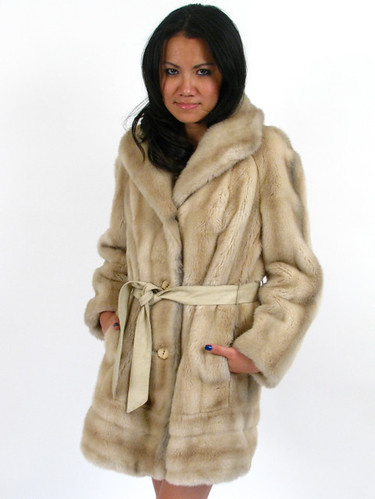 60s FAUX FUR COAT
