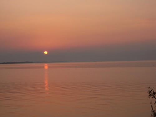 琵琶湖の夕焼け-06