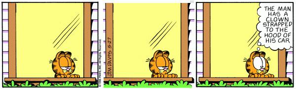 Garfield Minus Arbuckle, May 27, 1996