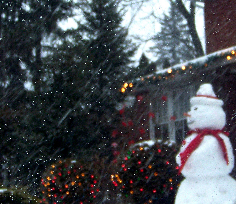 Earth Friendly Decorating --- Frosty The Snowman