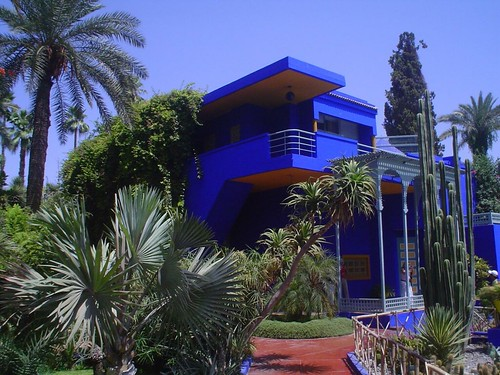 Photo des Jardins Majorelle à Marrakech