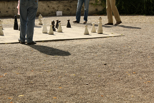zurich: chess games in the park