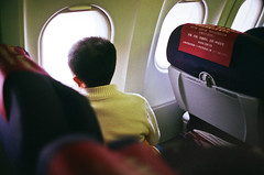 debate (ouchelun) Tags: china boy people zeiss airplane cabin mood shanghai you snap where fujifilm  moment takeoff g35  nanchang contaxg2  leavingonajetplane