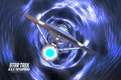 Enterprise02 (shemanthkumar) Tags: trek toy lights star model nikon ship indoor warp glowing enterprise ncc orbit kirk starship kumar hemanth 1701 nacell eaglemoss d3100