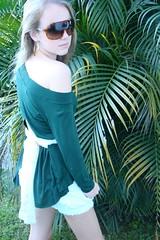 Verde com renda p/ laços (nanaquel.artesanato) Tags: handmade moda artesanato feltro santacatarina tecido renda customização feitoamao nanaquel