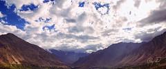 Karimabad Panorma (IshtiaQ Ahmed revival to Photography) Tags: pakistan clouds lights valley rakaposhi hunza northernareas karimabad nagar gilgit panorma baltistan northernareasofpakistan ishtiaq
