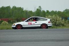 DSC_0002 (*Your Pal Marnie) Tags: car race honda si racing crx solo autocross autox scca 70300 sead senecaarmydepot