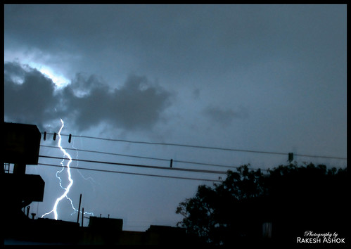 Lightning in Chennai