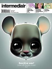 Coverdesign Intermediair magazine (jaap!) Tags: