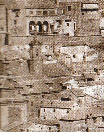 Iglesia de San Lorenzo en 1872. Fotografía de Jean Laurent (detalle). Archivo Ruiz Vernacci
