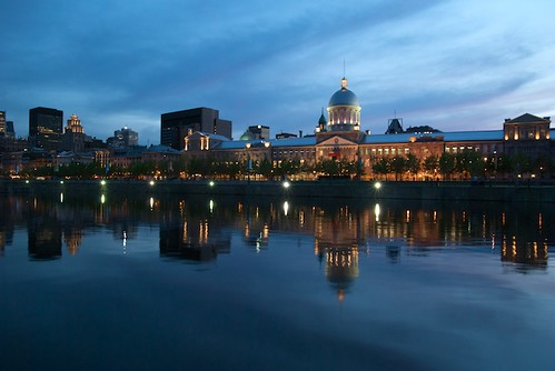 Marché Bonsecours During Blue Hour
