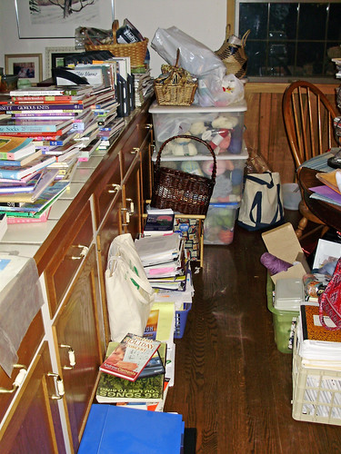 Stash room decluttering