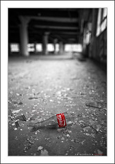 r e f r e s h (- Zara -) Tags: canada abandoned broken glass bottle break cola quebec montreal coke warehouse illegal enter without coca shards breaking illegitimate
