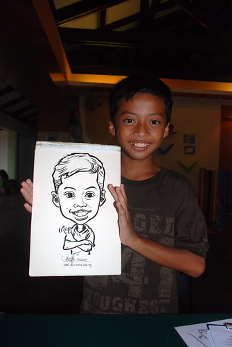 Caricature live sketching for Costa Sands Resort Day 3 - 12