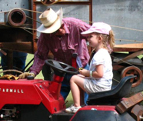 future tractor driver