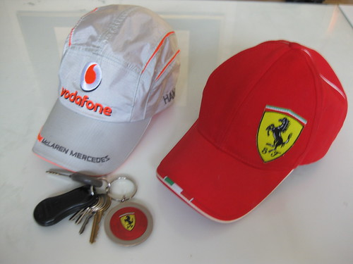 Mclaren mercedes , ferrari and key. Anyone can see this photo