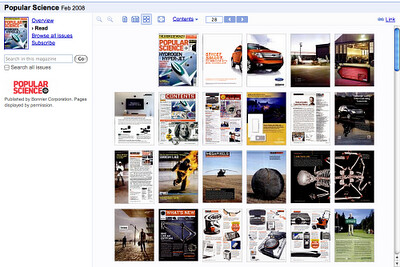 Thumbnails Google Book Search