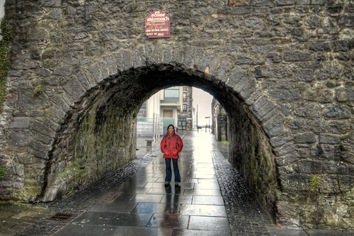 Stef Under the Spanish Arch