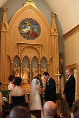 Exchanging of the vows (unit2345) Tags: chris ohio dublin cari