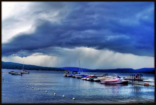 Lac de pluie...