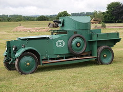 Rolls-Royce Armoured Car (Megashorts) Tags: uk outside army war military rollsroyce olympus armor dorset vehicle british e3 fighting armour armored zuiko 2009 tankmuseum armoured armouredcar zd mk1 1454mm bovingtontankmuseum tankfest tankfest2009 bovingtonmuseum
