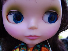 Annick (Brentments) Tags: light love vintage out amazing doll control it her much kenner blythe brunette pocket bangs blush bang 1972 sixteen annick chunky banged so of