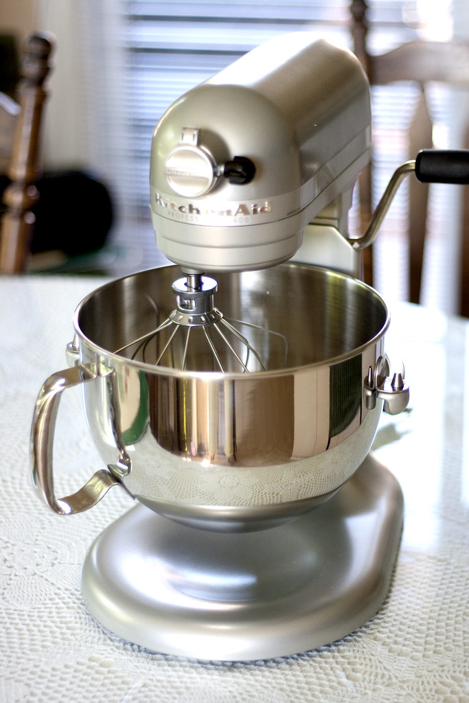 omg my new kitchenaid mixer