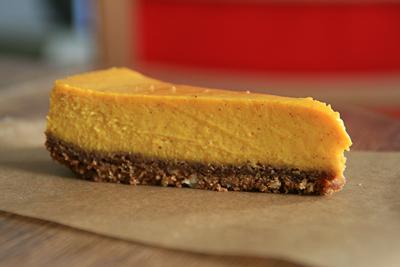 Kabocha Squash Cheesecake