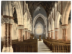 [Boddelwyddan Church (interior), Rhyl, Wales] ...