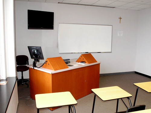 Improvements to Electronic Classroom 502