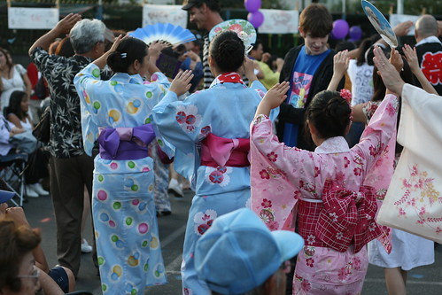 Higashi Honganji Buddhist Temple 50th Annual Obon Festival (July 25, 2009)