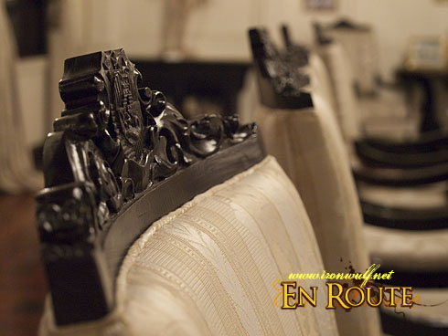 Malacanang Palace Old Chair Details