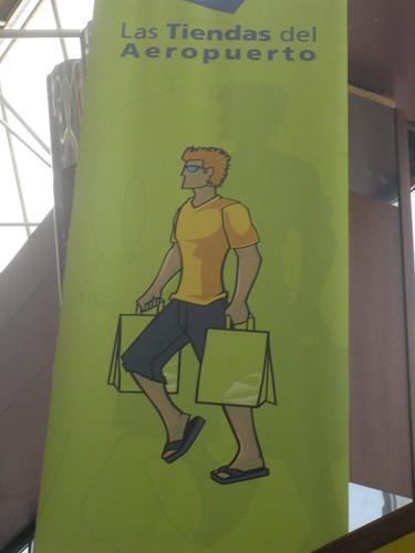 En las tiendas del Aeropuerto III