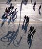 ombre lunghe e assecondanti (mluisa_) Tags: roma tramonto ombre persone luci lampione viadeiforiimperiali mluisa fivestarsgallery larealtànonesiste primaopoimiconvincerai sperononsiatroppofacile
