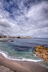 Playa de Riazor, La Coruña HDR 2