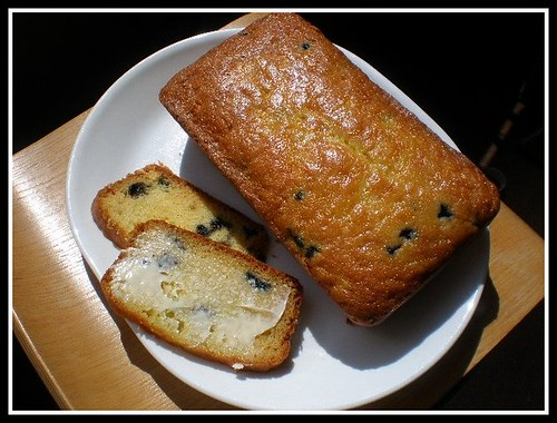 Lemon, blueberry zucchini bread