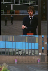 Who is she (Dave S Campbell) Tags: gregorys girl cumbernauld scottish film location then now bill forsyth abronhill high school setjetting set jetting