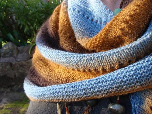 Blue shawl 1