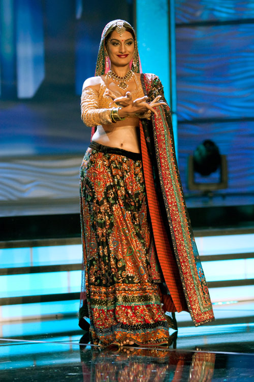 Traje Típico de Miss India