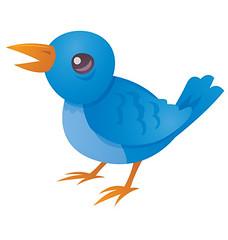 Tweet (John Schwegel) Tags: cute bird art animal illustration blog call symbol web internet cartoon communication sing clipart discussion bluebird vector tweet socialmedia twitter