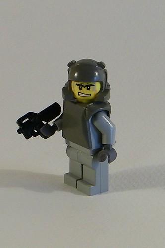 p90 custom minifig weapon