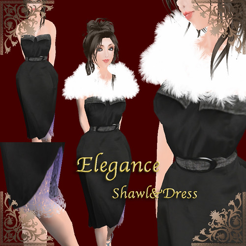 eleganceshawl&dress